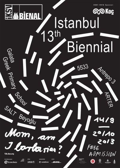 13 Istanbul Bienali 14 Eylül Cumartesi Günü Açılıyor