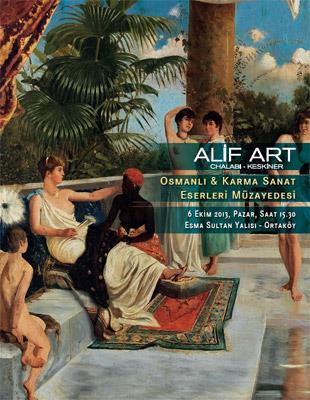 Alif Art Gravür, Harita ve Kitap, Osmanlı ve Karma Sanat Eserleri Müzayedesi