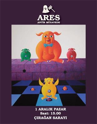 Ares Osmanlı, Modern, Çağdaş ve Karma Sanat Eserleri Müzayedesi