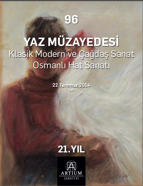 Artium Sanat Evi 96. Müzayede (Klasik, Modern ve Çağdaş Sanat Osmanlı Hat Sanatı)