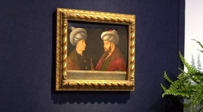 Fatih Sultan Mehmet'in portresi satıldı