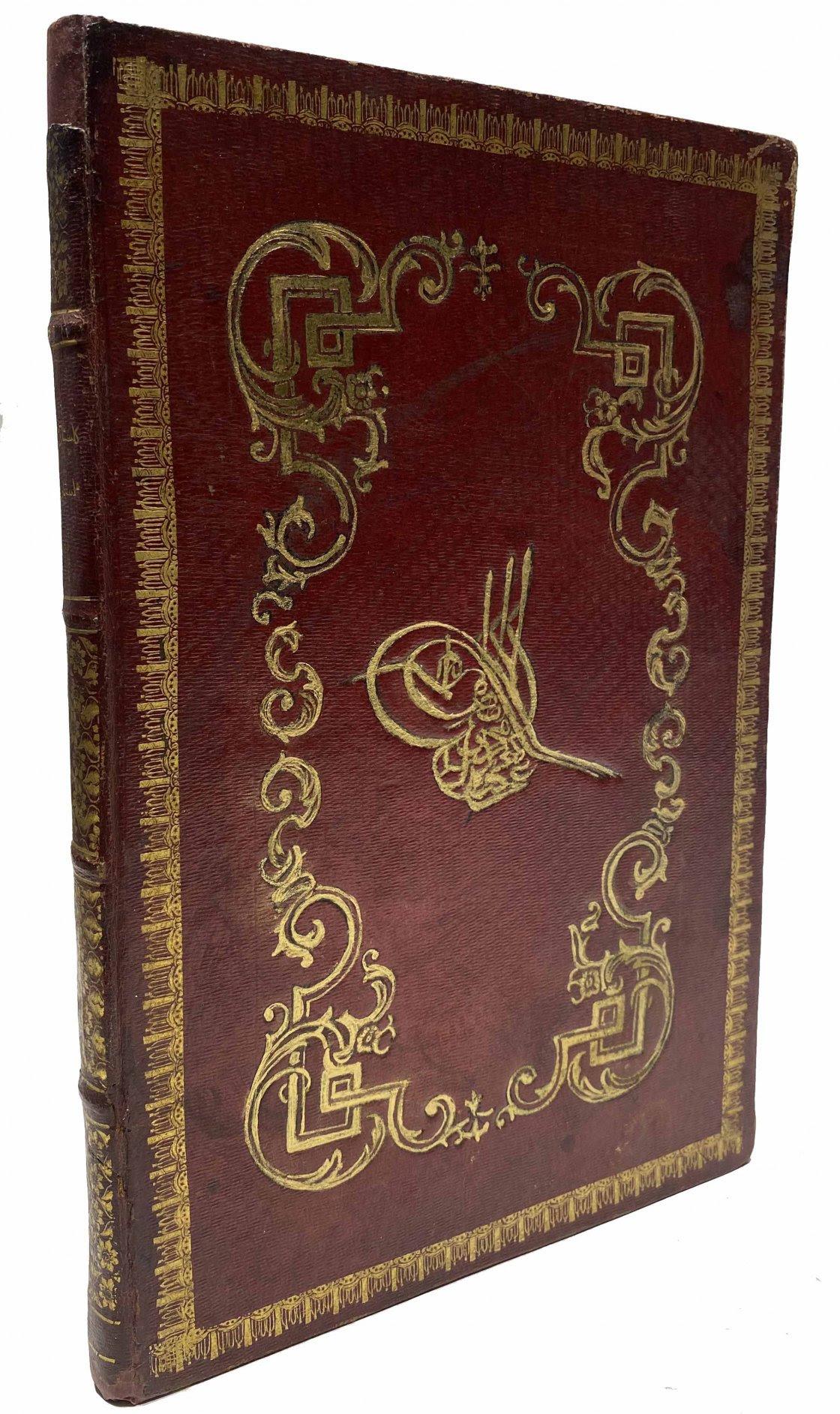 Gülistan isimli eski Türkçe kitap